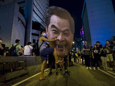 Acepta líder de Hong Kong dialogar con manifestantes
