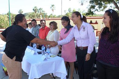 """Delegación de San Antonio, """"Comunidad Saludable"""""""