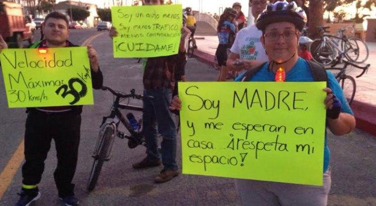 Buscan ciclistas humanizar la vialidad de la ciudad