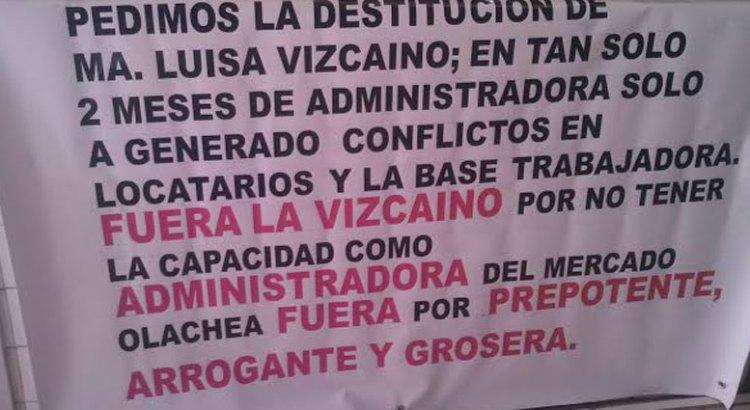 """El del Mercado Olachea, """"un pleito entre particulares"""""""