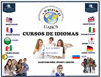 Convoca UABCS a cursos de idiomas