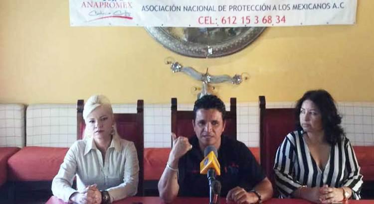 Ofrece ANAPROMEX 10 mil votos a Narciso