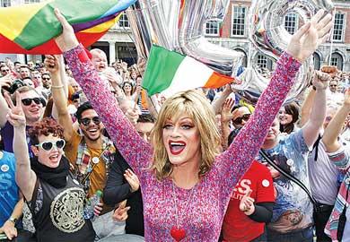 Dan el sí a bodas gay en Irlanda
