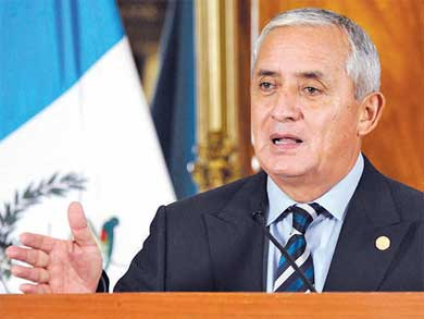 Purga en el gabinete guatemalteco