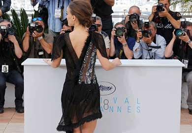 No convenció Natalie Portman en Cannes