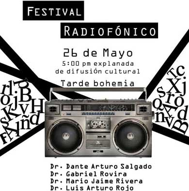 Invita UABCS a Festival Radiofónico