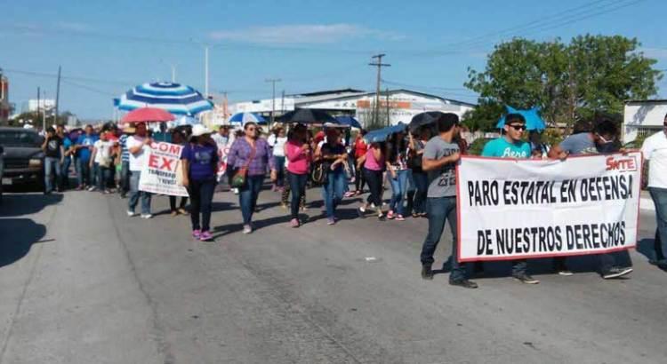 Se deslinda el Sindicato de las marchas y protestas magisteriales