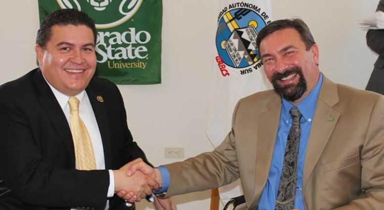 Fortalecen vínculos UABCS y la Universidad de Colorado