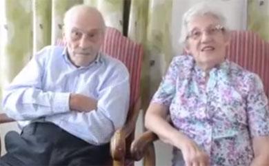 Se casan tras 27 años de noviazgo