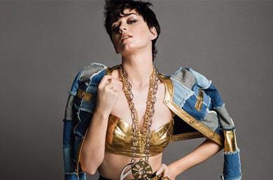 Katy Perry, la nueva musa de Moschino