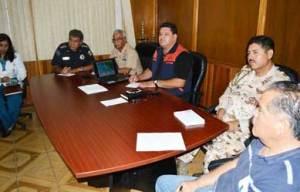El Consejo Municipal de Protección Civil de Mulegé