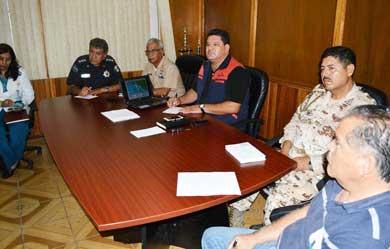 En Sesión Permanente el Consejo Municipal de Protección Civil