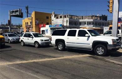 Salió contraproducente reparación del semáforo de Rosarito
