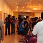 """Presentan """"Aberraciones y vergüenzas"""" de Efrén Olalde en la UABCS. La exposición continuará exhibiéndose en la Galería del Poliforo hasta el 20 de octubre."""