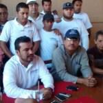 Los candidatos a delegado de Cabo San Lucas, Óscar Leggs Castro y José Manuel Larumbe
