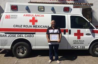 Le dio nueva vida a una ambulancia… y gratis
