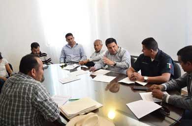 Se reunió Delegado de CSL con Antorchistas
