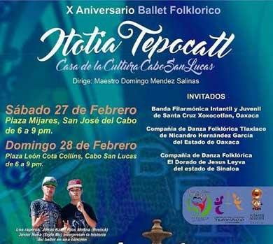 X Aniversario del Ballet Itotia Tepocatl