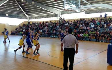 Los Cabos, oro en basquetbol varonil