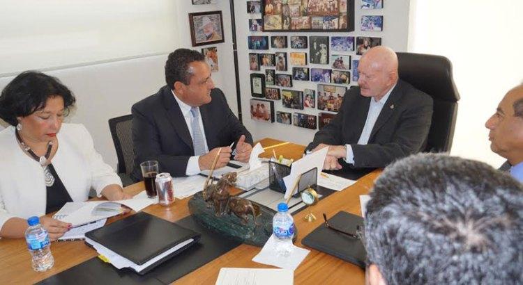 Se reunió el Gobernador con el Comisionado Nacional contra las Adicciones