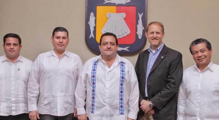 Se reunió el Gobernador del Estado con el Cónsul General de EU