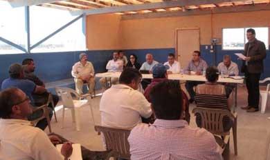 Sostuvo Andrés Córdova encuentros con el sector pesquero del norte de la entidad