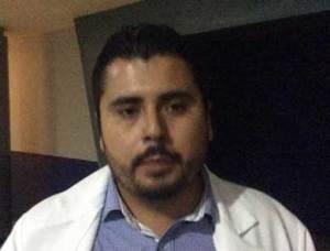 Jorge Iván Meza Cosío, Responsable del Hospital Estatal de Cáncer de la infancia y la adolescencia.