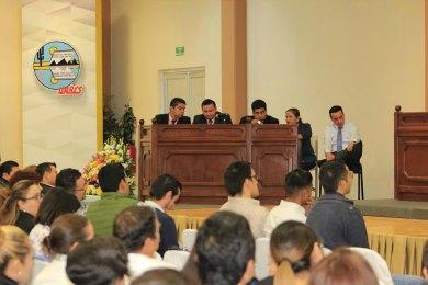 Presencian estudiantes de la UABCS juicio oral simulado