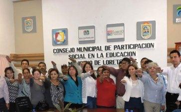 Toma protesta consejo  municipal de participación  social en educación