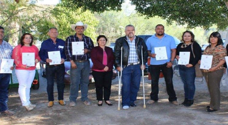 Entrega alcaldesa nombramientos a subdelegados de San Ignacio
