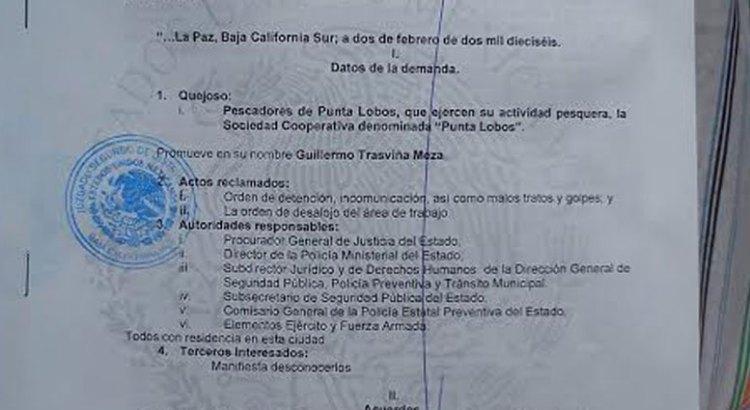 Se reinstala el plantón en Punta Lobos