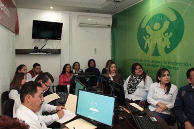 Capacita Secretaría de Salud a personal de COEPRIS