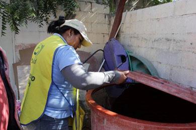 Más de 280 mil litros de insecticida contra el mosco transmisor de dengue