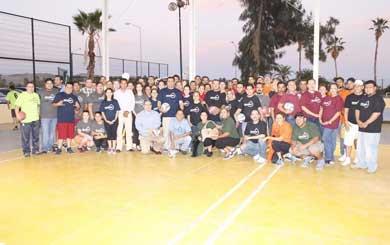 Torneo de volibol mixto