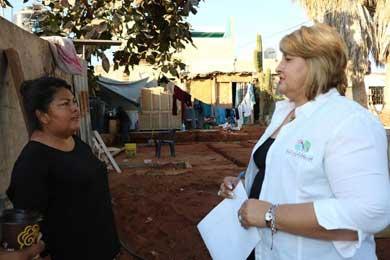 Avanza construcción de viviendas para familias de Los Cabos
