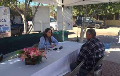Ofrece Arely Arce audiencias públicas en colonia Miramar