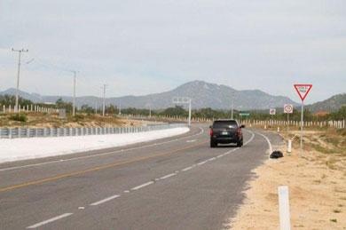 Alerta en la carretera de cuota SJC-CSL