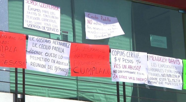Denuncian abogados irregularidades en Conciliación y Arbitraje