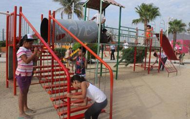 Rehabilitan parque