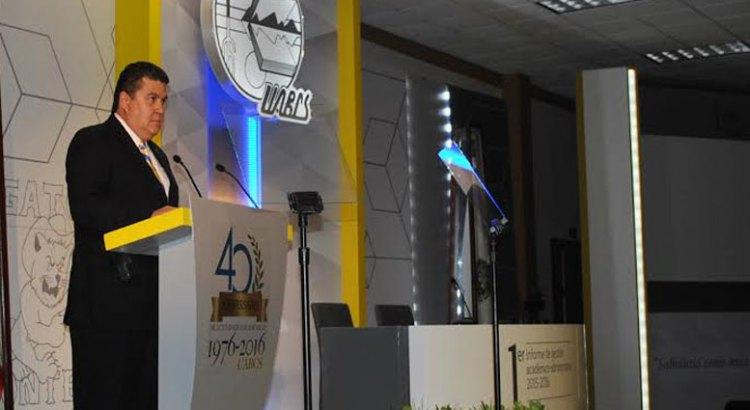 Rindió Rector de la UABCS su informe de gestión