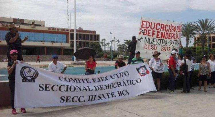 En BCS no se dan manifestaciones en rechazo a la reforma educativa o a la violencia