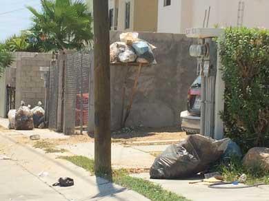Deficiente recolección de basura en Villa Bonita