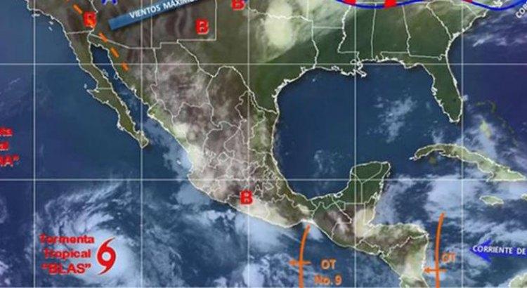 Blas ya es huracán categoría 1
