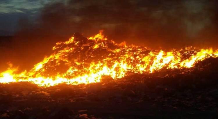 Arrasa incendio dos hectáreas de naranjales