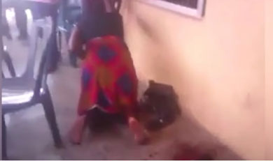 Mujer da a luz a una cabra