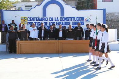 Conmemoraron 100 años de la Constitución Política