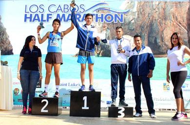 """Exitoso""""Half Marathon Los Cabos"""""""