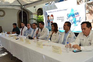 1ª. Semana Nacional de Vacunación