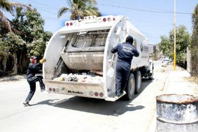 Recoge Servicios Públicos cerca de 450 toneladas diarias de basura
