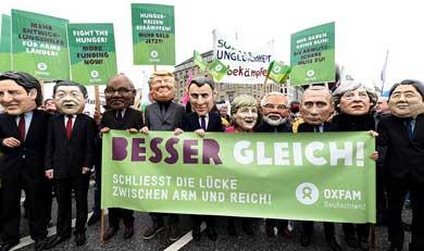 Miles protestaron en Alemania